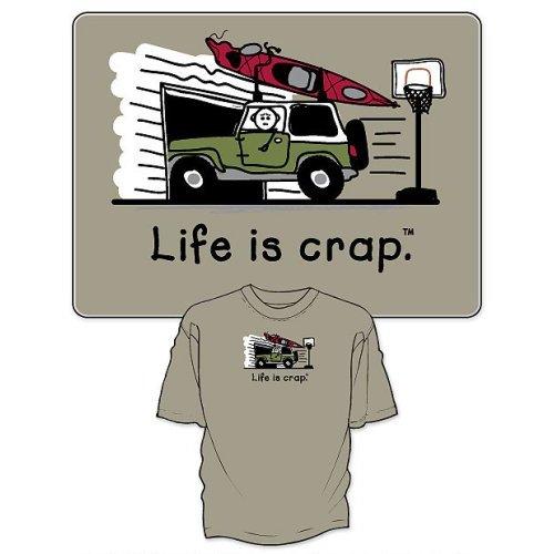 life-is-crap-kayak-garage