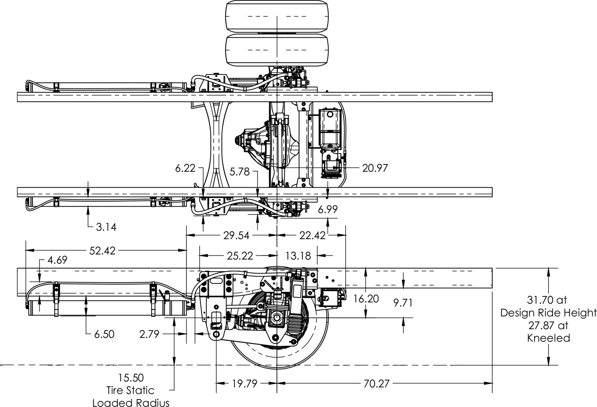 hight resolution of ford f 650 suspension schematics