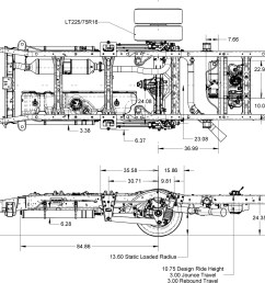 chevy gmc gm3500 4500 suspension schematics [ 1024 x 1009 Pixel ]