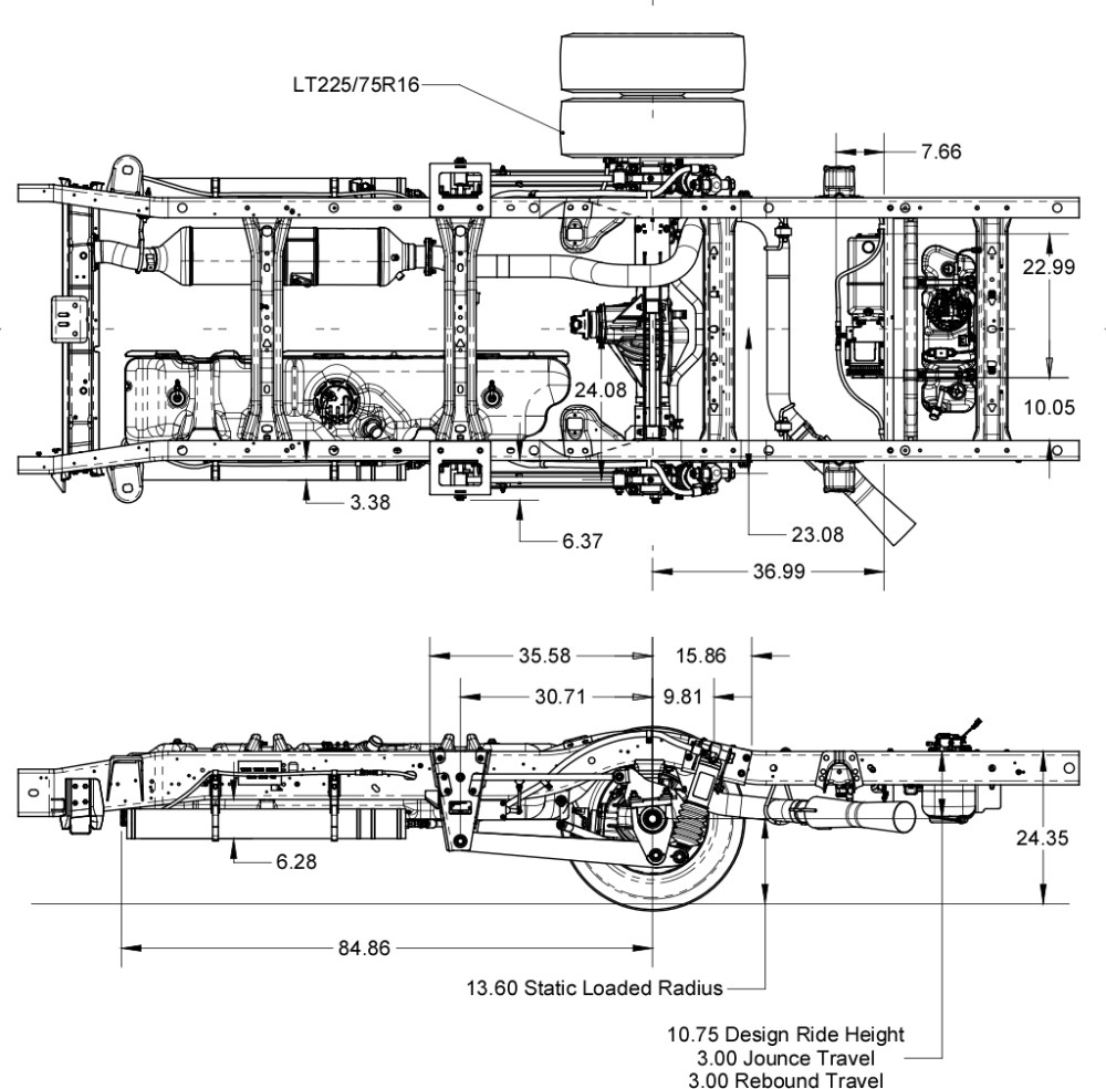 medium resolution of chevy gmc gm3500 4500 suspension schematics