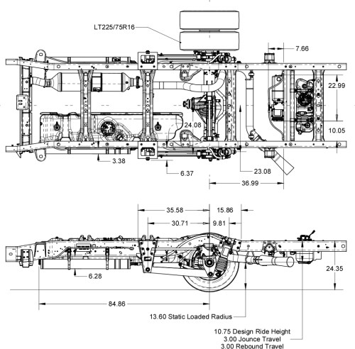 small resolution of chevy gmc gm3500 4500 suspension schematics