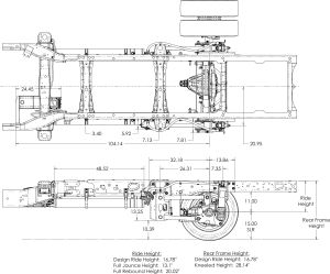 Ford F550 Suspension System for Emergency Vehicles