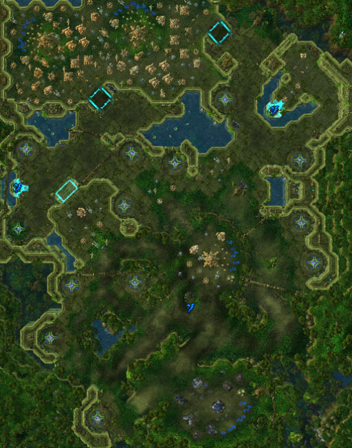 League Of Legends Jungle Map : league, legends, jungle, Campaign/Welcome, Jungle, Liquipedia, StarCraft, Encyclopedia