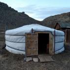 הגר - אוהל נוודים - בו ישנו את הלילה הראשון