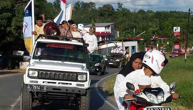 Suku Dayak Sanggau Menyambut Gayung Dakwah Lirboyo
