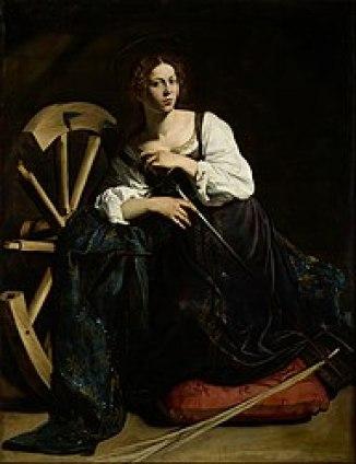 Sainte-Catherine d'Alexandrie - Le Caravage