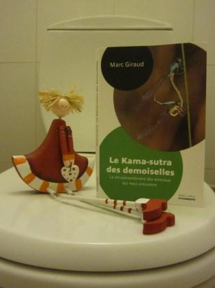 """""""Le Kama-Sutra des demoiselles, la vie extraordinaire des animaux qui nous entourent"""", de Marc Giraud, ed. Robert Laffont"""