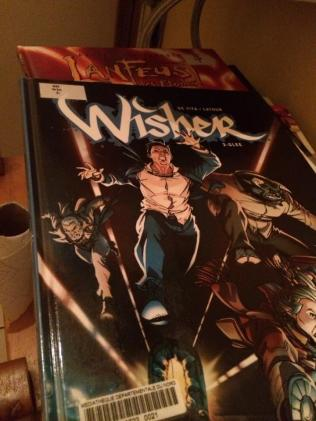 """Wisher"" de Sebastian Latour et Giulio de Vita, ed. Le Lombard."
