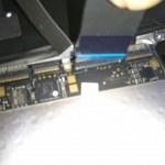 MacBook Air2011 トラックパッド交換しました。