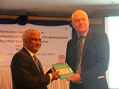Yangon book launch