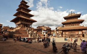 Bhaktapur, from happier times
