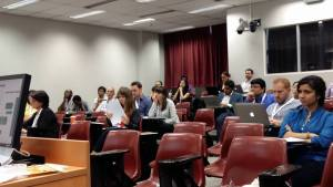 Audience at our session on Systematic Reviews at ICTD2015