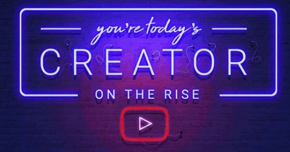 youtube creator on the rise - June 24 2019