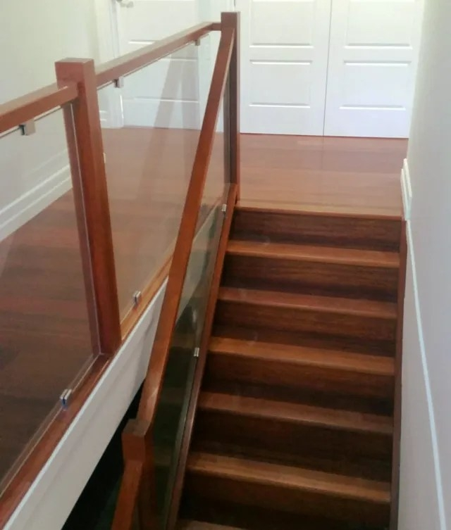 Expensive Looking Stairs On A Budget   Glass Balustrade Staircase Cost   Tempered Glass Panels   Stair Treads   Oak Staircase   Curved Glass   Stainless Steel