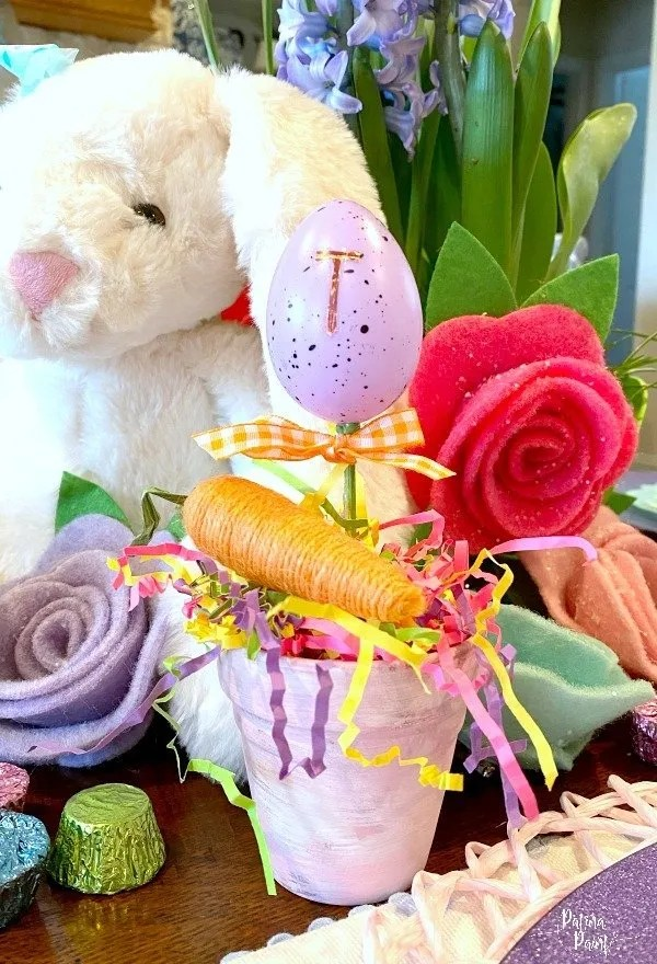 Easter egg place card