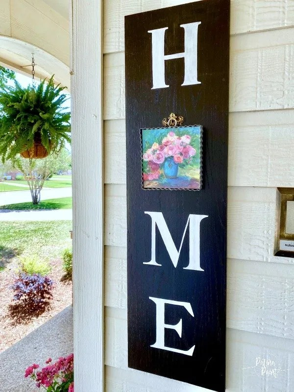 How To Make A Home Sign