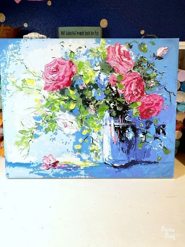paint by numbers art