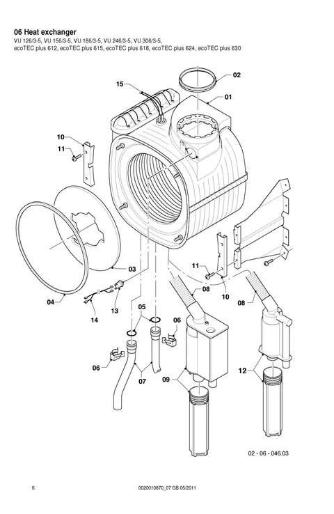 Boiler and heating parts at K J Plumbing Factors & Heating