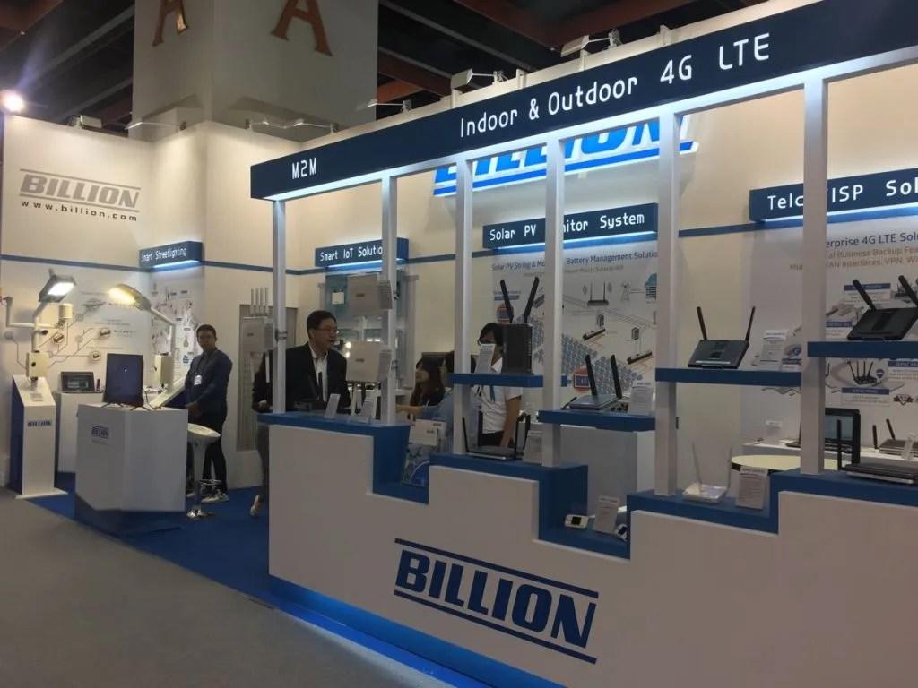 Visit Billion at Computex Taipei. May 30th~June 3rd