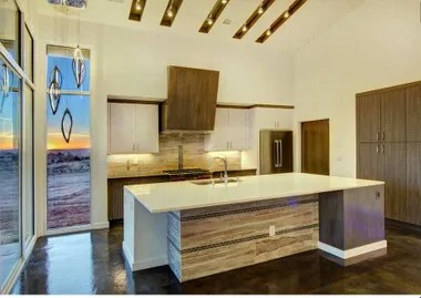 kitchen countertops installation in