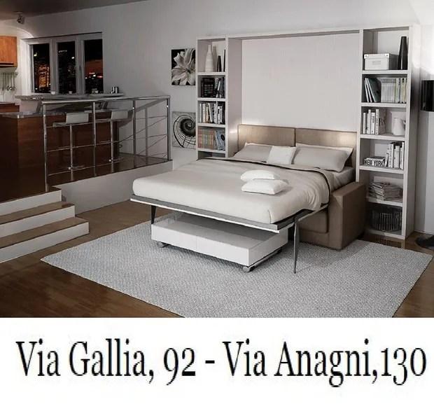 Idea notte di catarinelli di roma è un negozio specializzato nella vendita di. Letti A Scomparsa A Roma Via Anagni 130 Via Gallia 92 I Salvaspazio