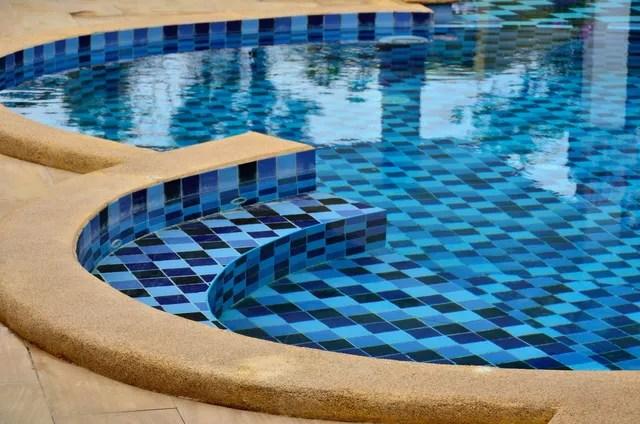 pool tile installation pool tile