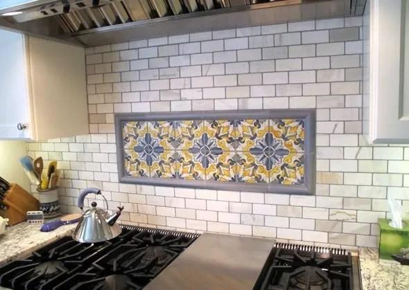 kitchen tile backsplash countertops