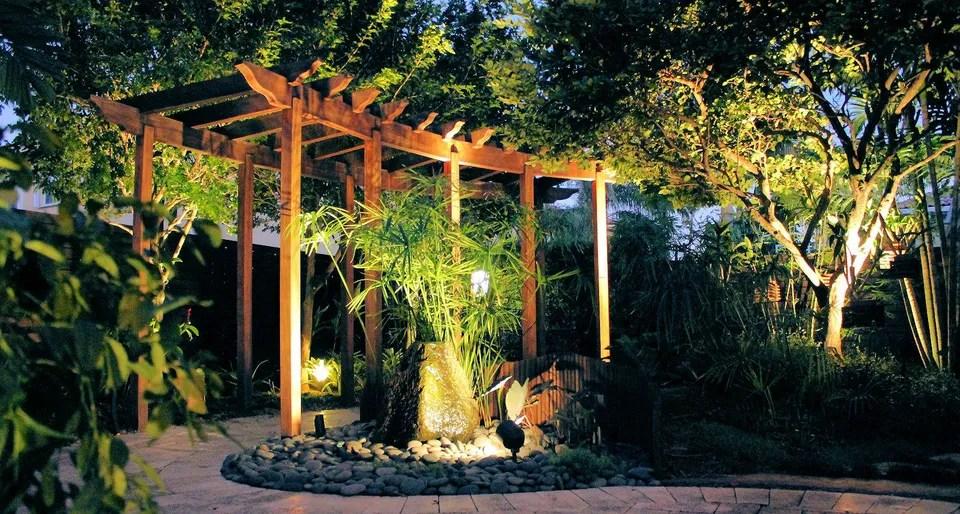 landscape architectural lighting