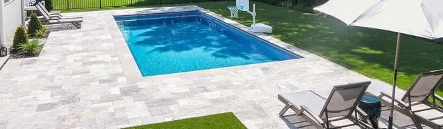 an inground swimming pool