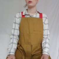 """I design and make work aprons in my studio in hil…"