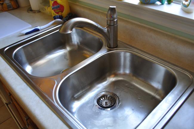 new sink