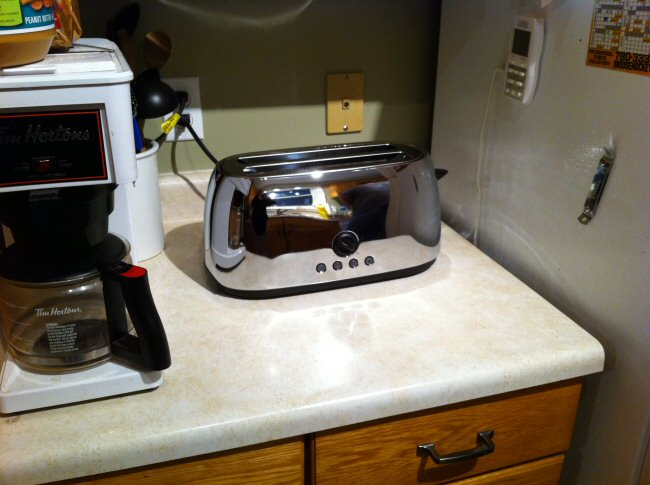 Our new toaster
