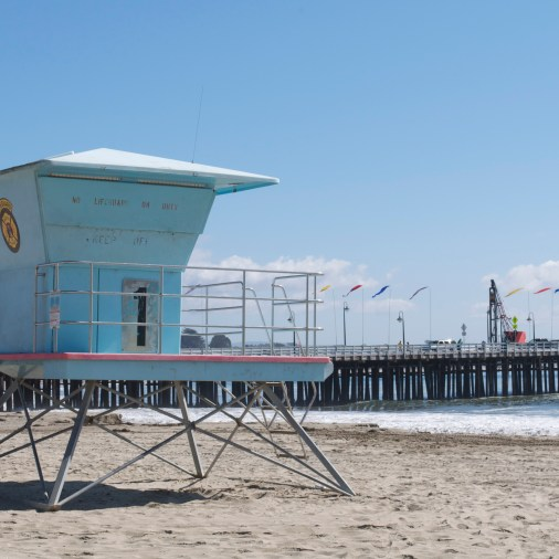 Lifeguards must have left for the season