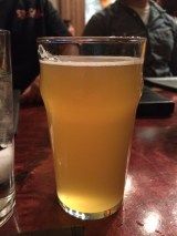 My beer at a Trivia night we participated in at a local bar