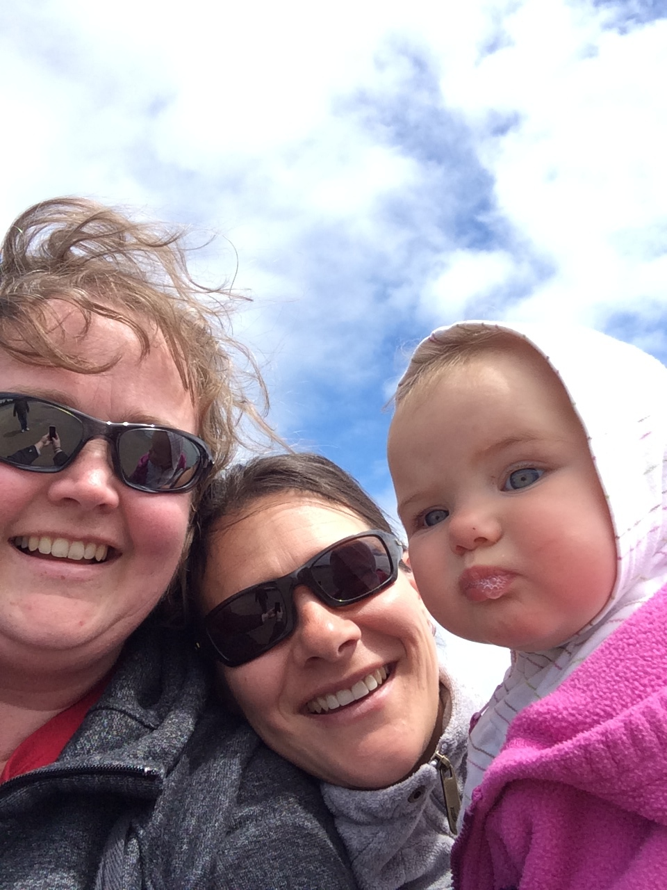 Lisa, Jen, & Katie at the beach