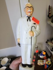 What a find! A Col. Sanders piggy bank!