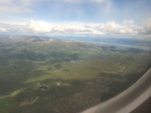 First glimpse of the Yukon