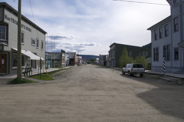 Intersection of Third Ave and King Street, Dawson City