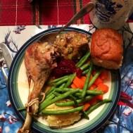 Turkey dinner for 2.