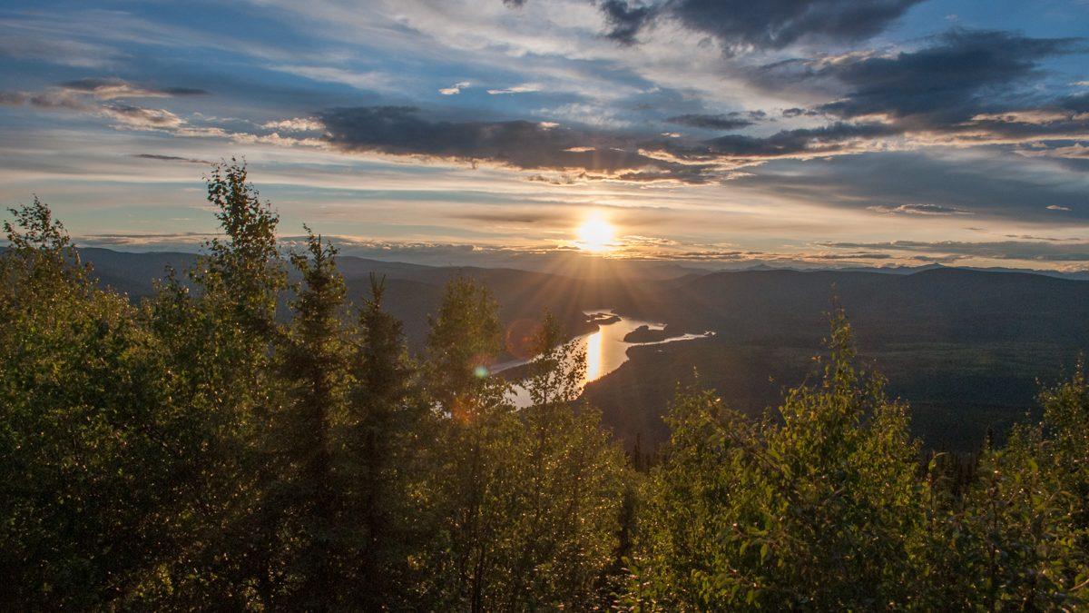 Summer solstice in Dawson City