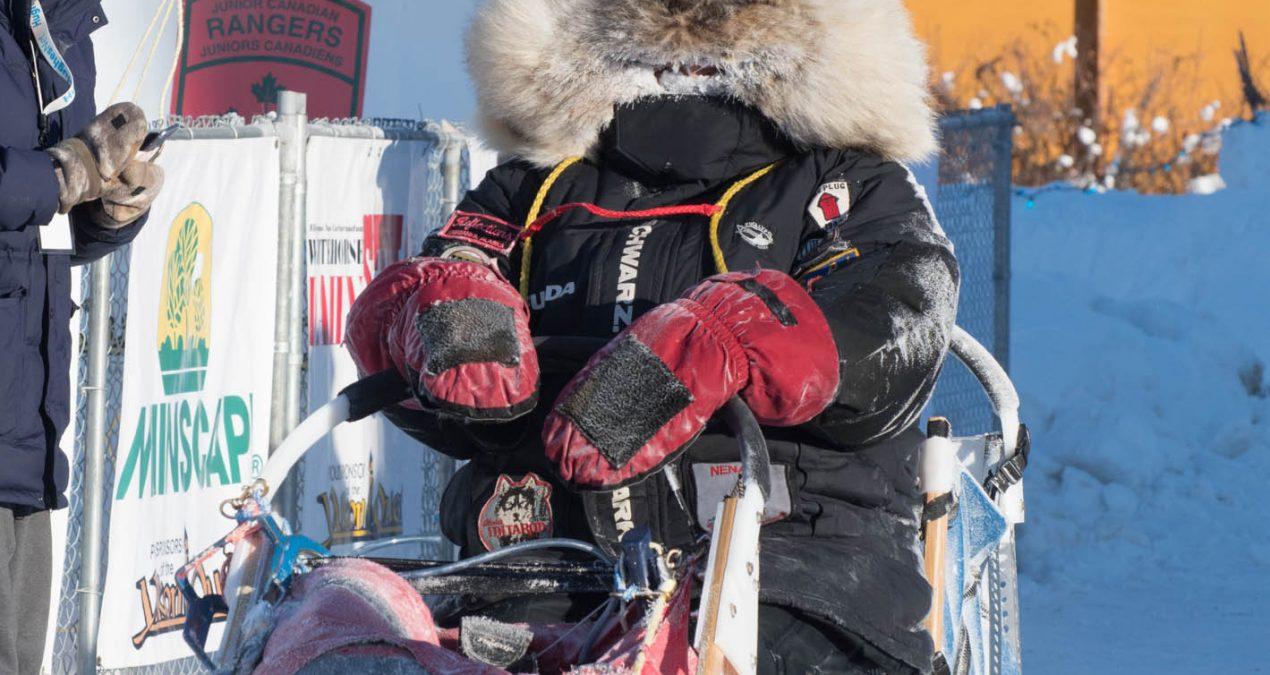 Yukon Quest 2018: Dave Dalton's arrival in Dawson City