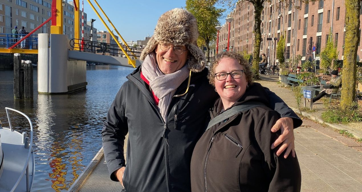 Amsterdam, a boat ride with Paul, and a funeral!
