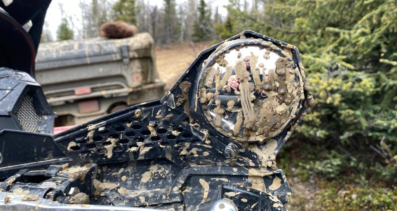 Muddy quad ride