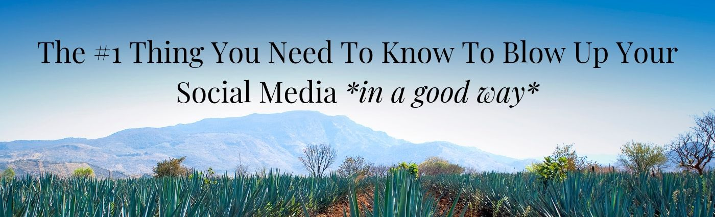 The #1 Thing You Need To Know To Blow Up Your Social Media *in a good way*