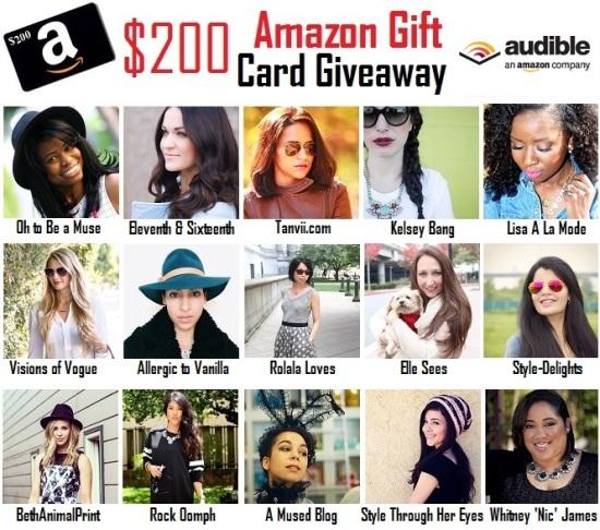 Audible.com & $200 Amazon Giveaway!
