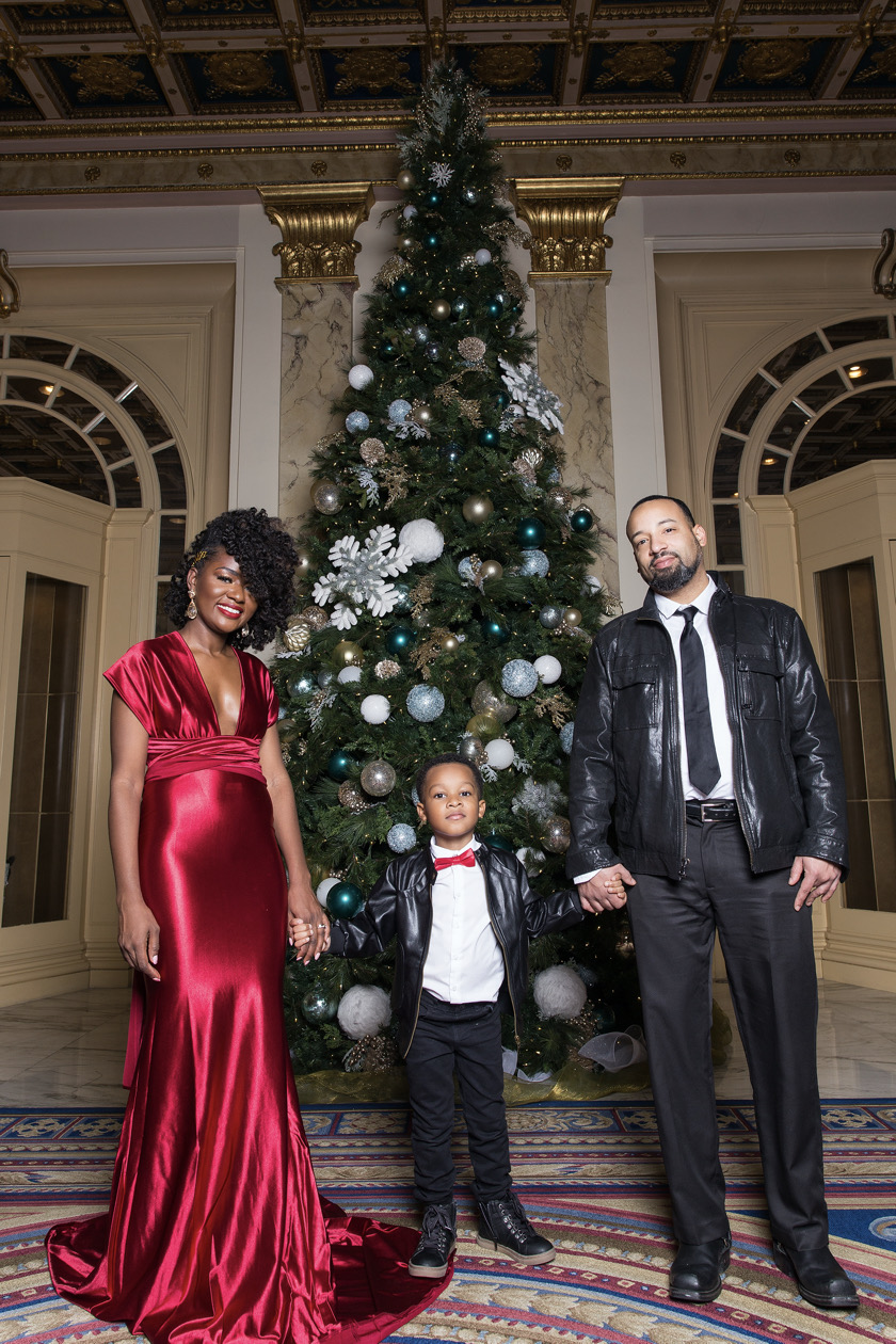 Black Family Holiday Pictures
