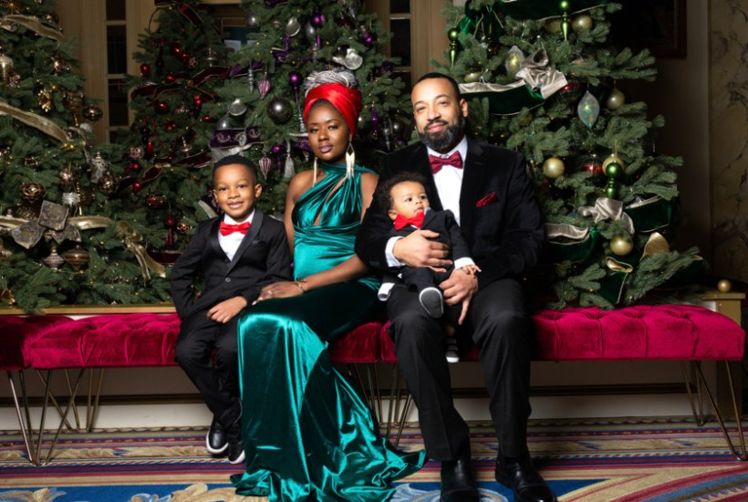 pictures of a black family