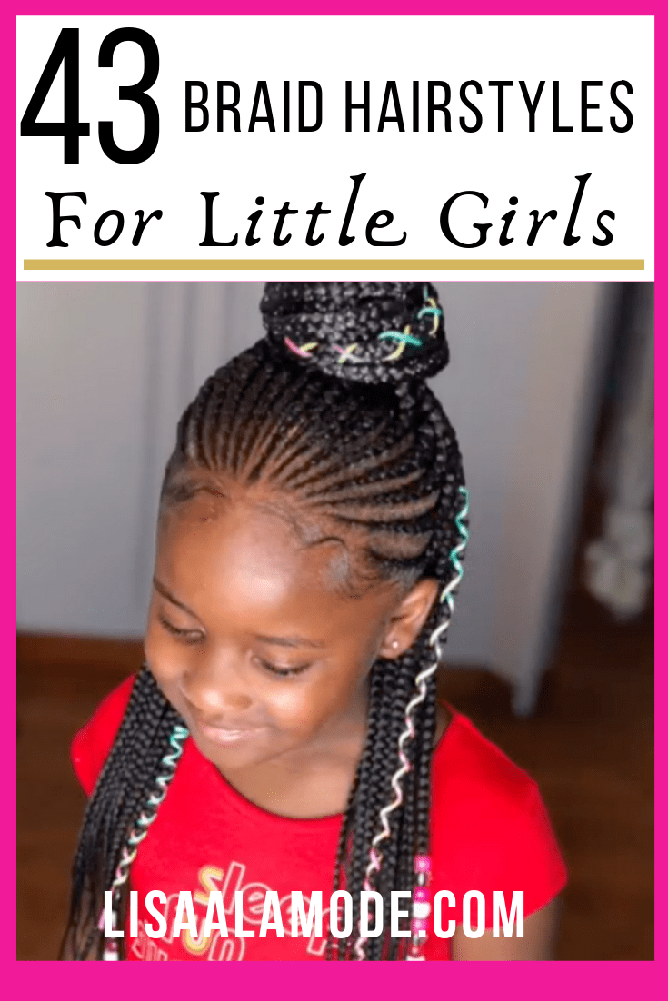 43 braid hairstyles for little girls with natural hair -