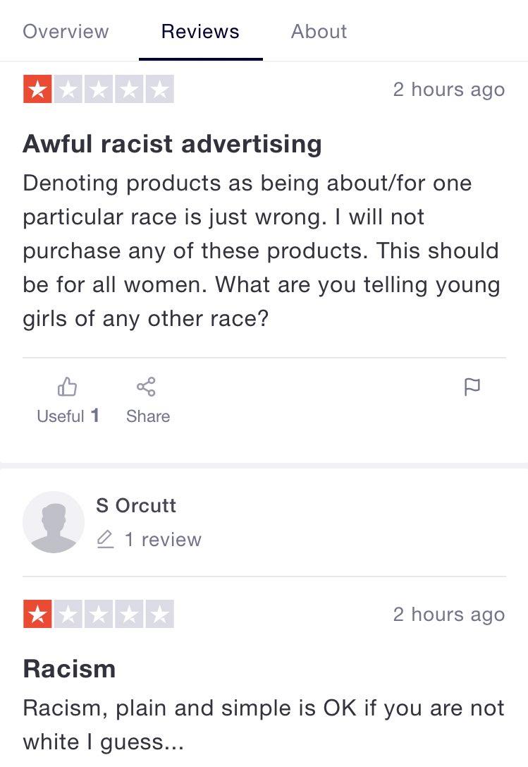 racist reviews the honey pot