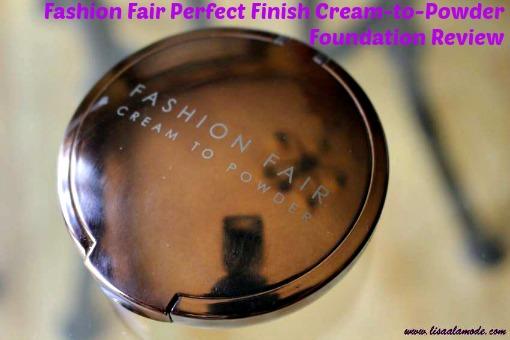 Fashion fair cream to powder foundation